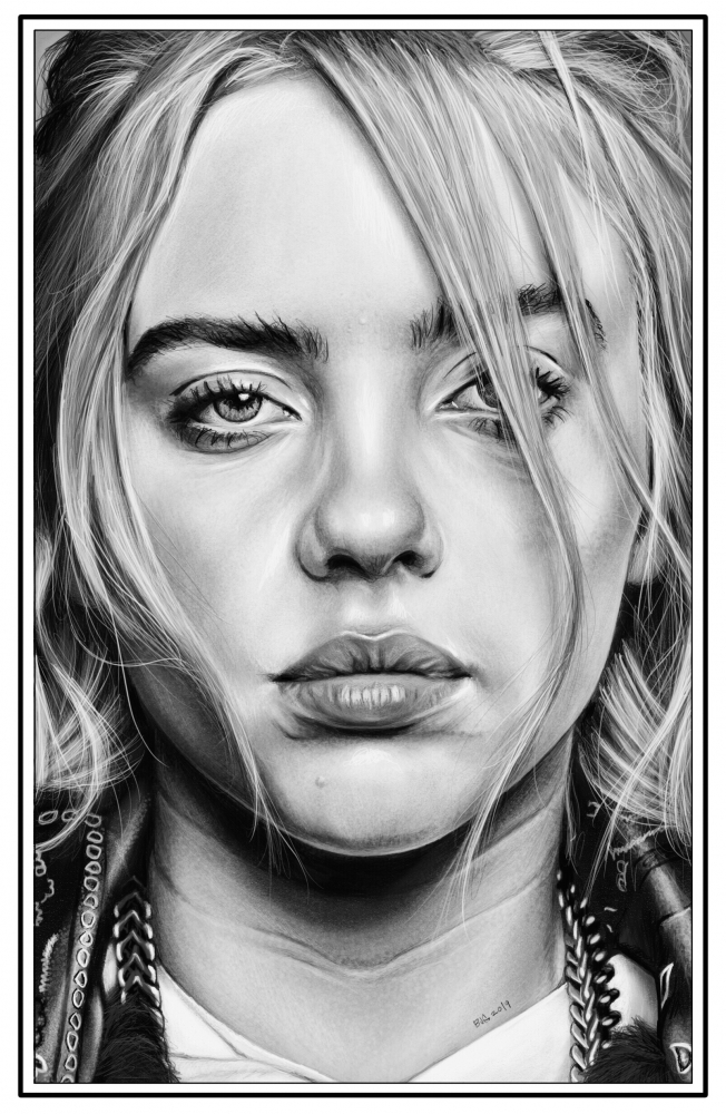 Billie Eilish par BradGeiger